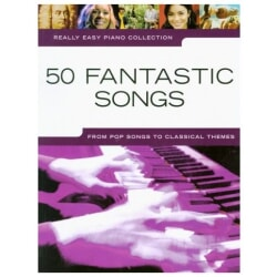 PWM 50 FANTASTIC SONGS. REALLY EASY PIANO