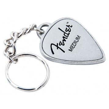 FENDER KEY CHAIN MEDIUM PICK brelok