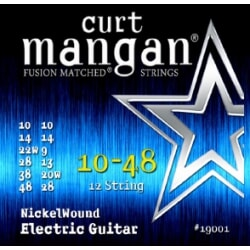 CURT MANGAN 10-48 12-String Nickel Wound