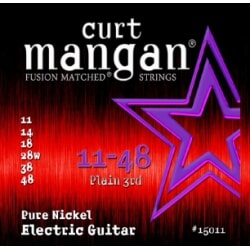 CURT MANGAN 11-48 Pure Nickel Wound struny