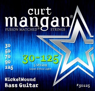 CURT MANGAN 30-125 Nickel Bass 5-String