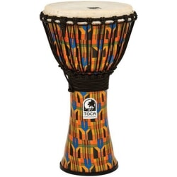 TOCA SFDJ-10K DJEMBE KENTE CLOTH