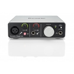 FOCUSRITE ITRACK SOLO interfejs do iPad