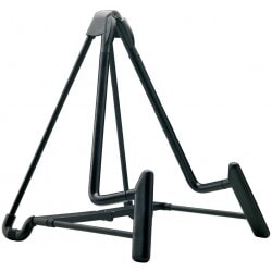 K&M 17581-000-55 GUITAR STAND BLK