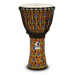 TOCA SFDJ-12K DJEMBE KENTE CLOTH