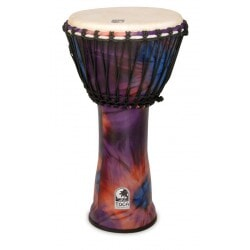 TOCA SFDJ-12WP DJEMBE WOODSTOCK PURPLE