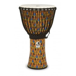 TOCA SFDJ-14KB DJEMBE KENTE CLOTH