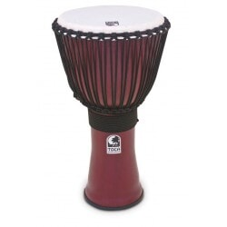 TOCA TF2DJ-14R DJEMBE DARK  RED