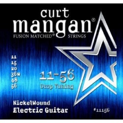 CURT MANGAN 11-56 Nickel Wound Drop Tuning