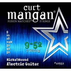 CURT MANGAN 9-52 Nickel Wound 7-String