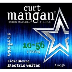 CURT MANGAN 10-56 Nickel Wound 7-String