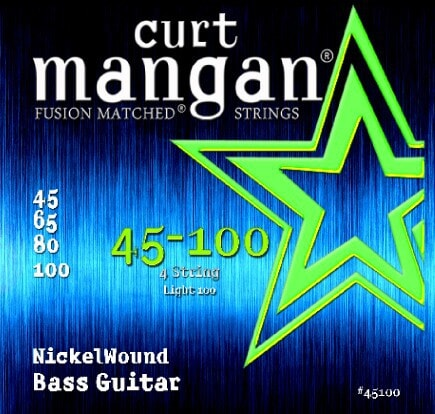 CURT MANGAN 45-100 Nickel Wound Light