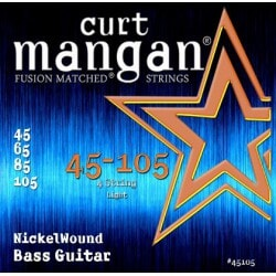 CURT MANGAN 45-105 Nickel Wound Bass