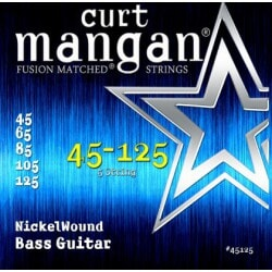 CURT MANGAN 45-125 Nickel Wound Bass 5-Str
