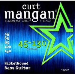 CURT MANGAN 45-130 Nickel Wound Bass 5-Str