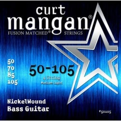 CURT MANGAN 50-105 Nickel Wound Bass