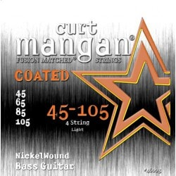 CURT MANGAN 45-105 Nickel Bass COATED