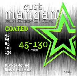 CURT MANGAN 45-130 Nickel Bass 5-Str COATED
