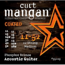 CURT MANGAN 11-52 12-String Phos Medium COATED