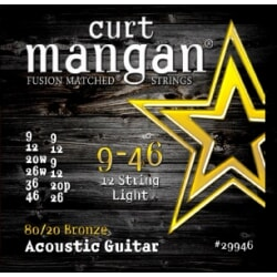 CURT MANGAN 9-46 80/20 Bronze 12-Str Light
