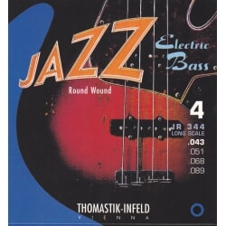 THOMASTIK JR344 JAZZ NICKELROUND