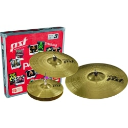 PAISTE PST 3 SET HI-HAT 14 CRASH 16 RIDE 20
