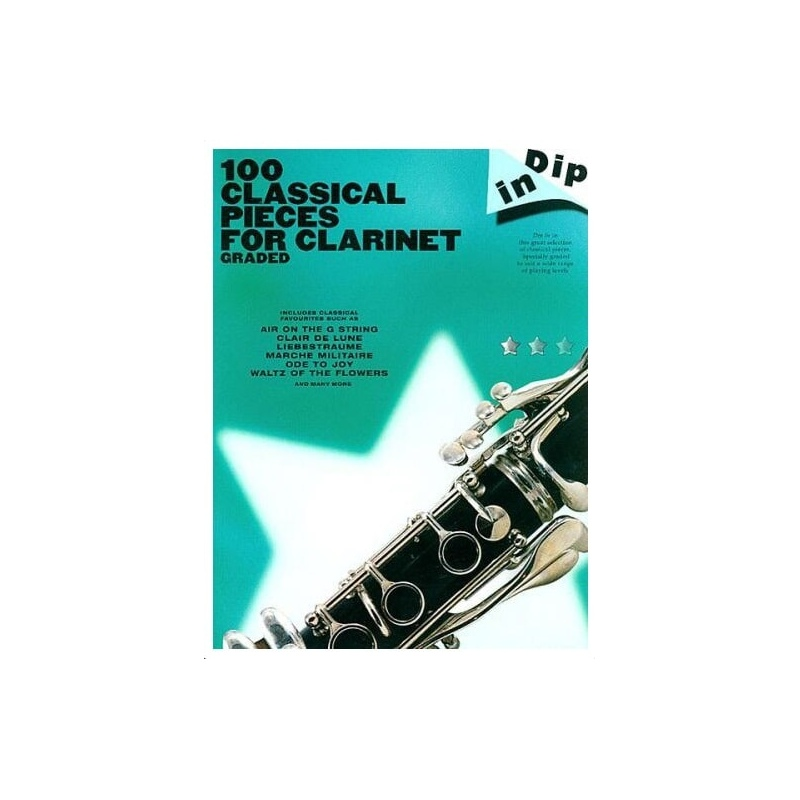 PWM 100 GRADED CLASSICAL PIECES FOR CLARINET