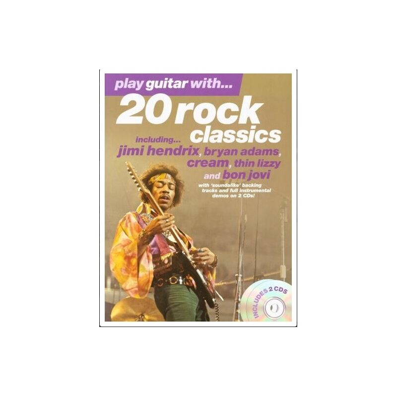Pwm 20 Rock Classics. Play Guitar With