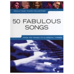 PWM 50 FABULOUS SONGS. REALLY EASY PIANO