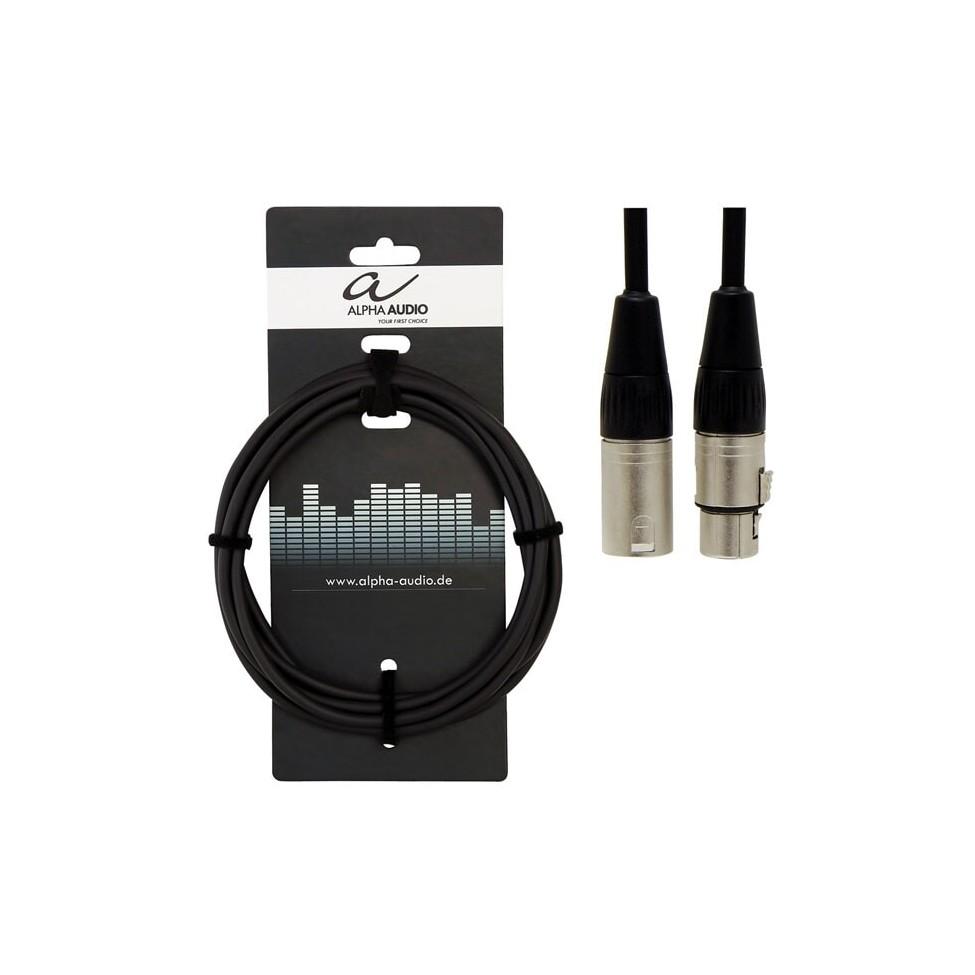 ALPA AUDIO kabel mikrofonowy XLR  15 m