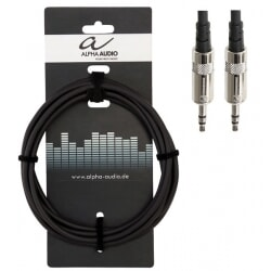 ALPHA AUDIO kabel mały jack stereo 1,5 m