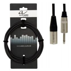 ALPHA AUDIO kabel głośnikowy Jack Mono - XLR  10 m