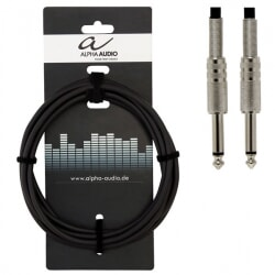ALPHA AUDIO kabel instrumentalny Jack Mono 3 m