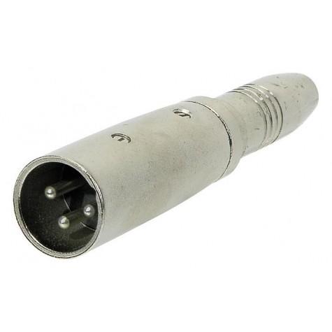ALPHA AUDIO adapter / przejściówka Jack Stereo - XLR (m)