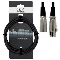 ALPHA AUDIO kabel mikrofonowy XLR  3m