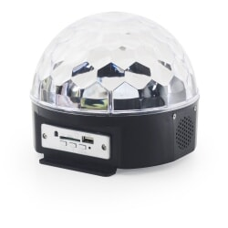 FLASH LED MAGIC BALL MP3 + PILOT
