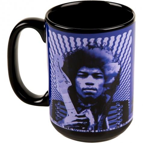 Fender Mug Hendrix Kiss Sky Purple Kubek