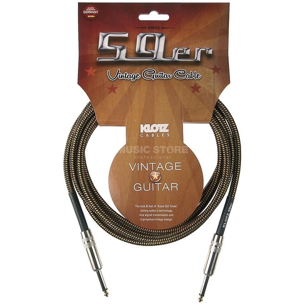 KLOTZ VIN-0300 kabel gitarowy vintage 3m