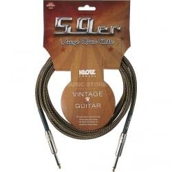 KLOTZ VIN-0600 kabel gitarowy vintage 6 m