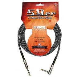 KLOTZ VINA450 kabel gitarowy vintage 4,5 m