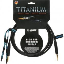 KLOTZ TI-0300 PP TITANIUM kabel gitarowy 3 m