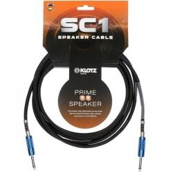 KLOTZ SC1PP01SW  kabel głośnikowy 1 m