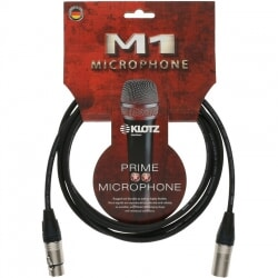 KLOTZ M1FM1N1500 kabel mikrofonowy XLR 15 m