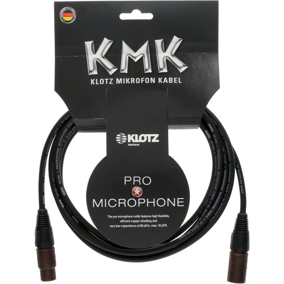 KLOTZ M1FM1K0300 kabel mikrofonowy XLR 3m