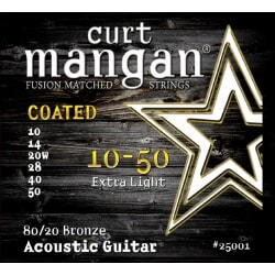 CURT MANGAN 10-50 80/20 Bronze Extra Light COATED
