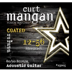 CURT MANGAN 12-56 80/20 Bronze Bluegrass Coated