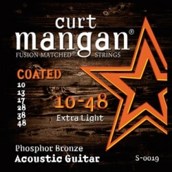 CURT MANGAN 10-48 PhosPhor Bronze Coated