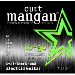CURT MANGAN 10-50 Stainless Extra Light struny
