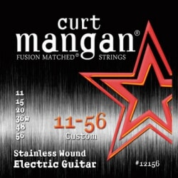 CURT MANGAN 11-56 STAINLESS STEEL DROP struny