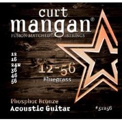 CURT MANGAN 12-56 PhosPhor Bronze Bluegrass struny